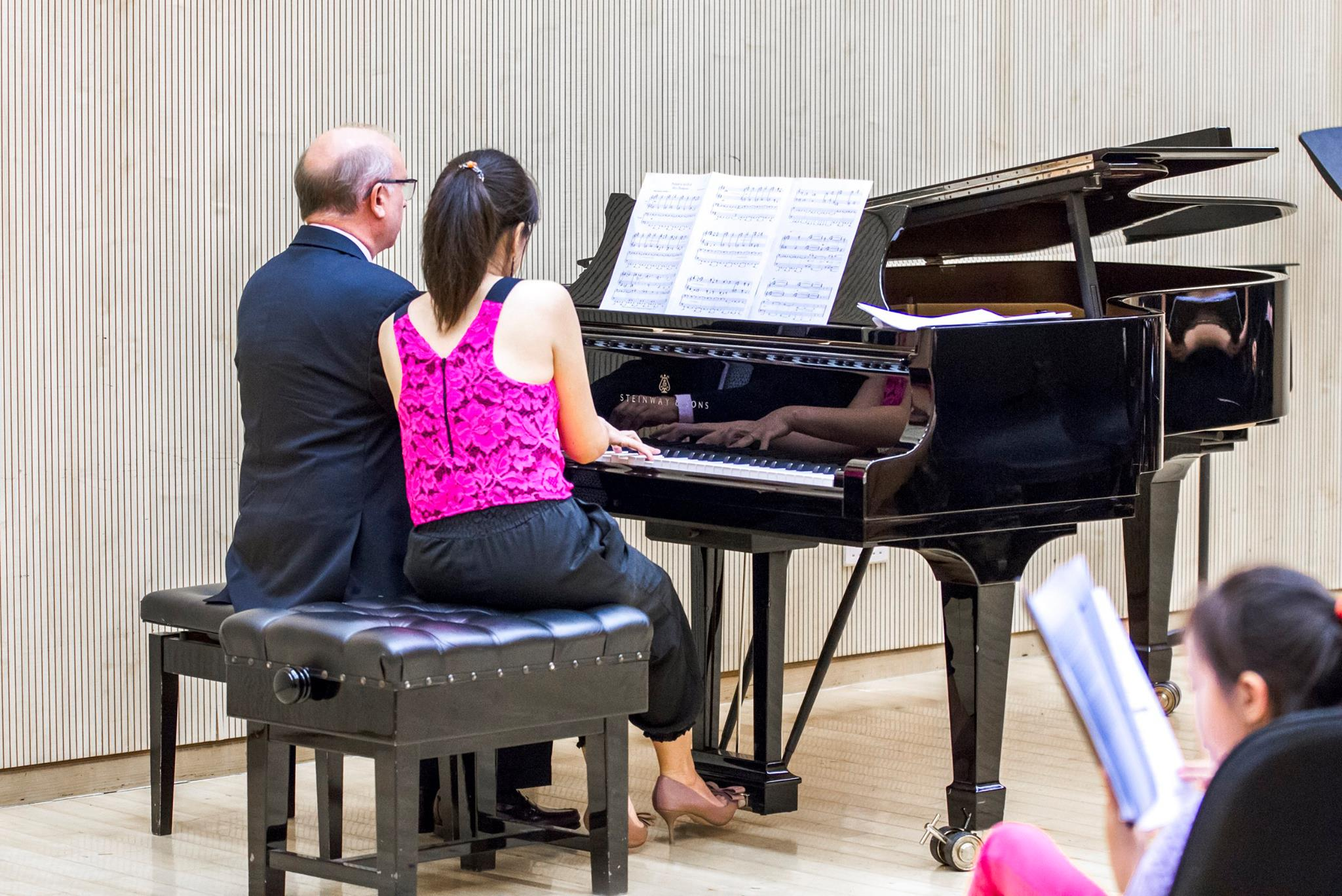 Prof. Urrows and Amy Sze play the Prelude to Act Two from his opera Miss Thompson